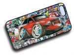 Koolart STICKERBOMB STYLE Design For Retro Mk3 Ford Fiesta XR3i Hard Case Cover Fits Apple iPhone 4 & 4s